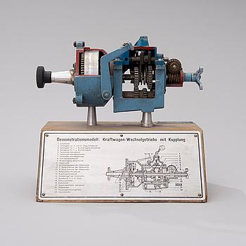UNDERVISNINGSMODELL, Werner Degener Lehrmittel GmbH, Tyskland.