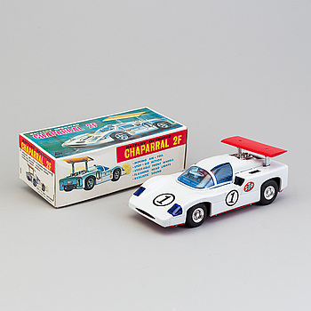An 1960's Alps toy car made in Japan.