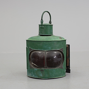 An early 20th century lantern.