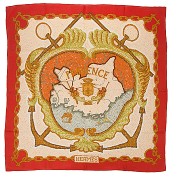 HERMÈS, Hermès scarf, 'Provence'.