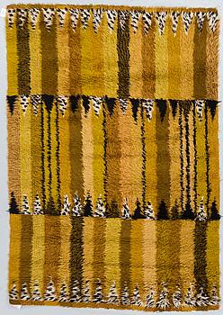 "MATTA, ""Stegeborg"", maskinvävd rya, Marianne Richter, ca 189 x 135 cm."