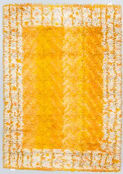 "MATTA, ""Melodi"", maskinvävd rya, Marianne Richter, ca 196 x 138 cm."