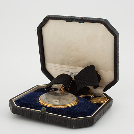 Tavannes, fickur, 44 mm, frackur