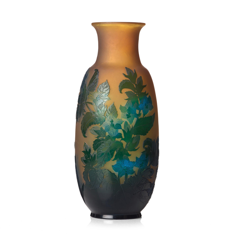 Emile gall an art nouveau cameo glass vase nancy france 10758921 bukobject reviewsmspy