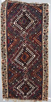 KELIM, Antik / Semiantik, Anatolisk, ca  338 x 168 cm.