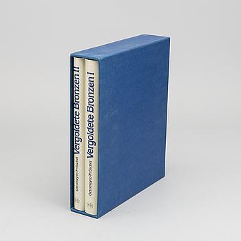 """BÖCKER 2 vol """"Vergoldete Bronzen I-II"""","""