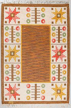 MATTA, rölakan, signerad AS, 1900-talets tredje kvartal, ca 248 x 169 cm.