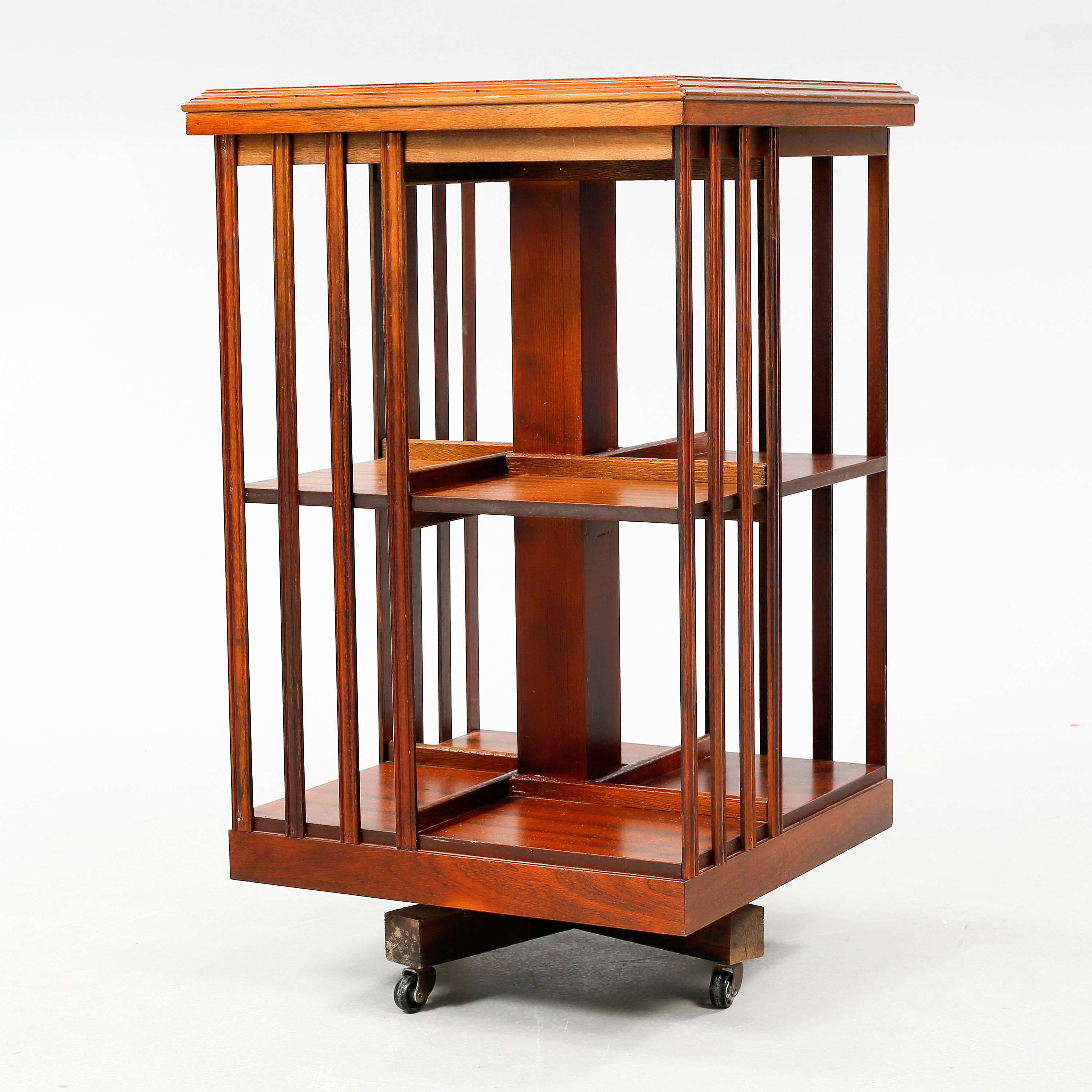 A Rotating Bookcase From The Fourth Quarter Of The 20th