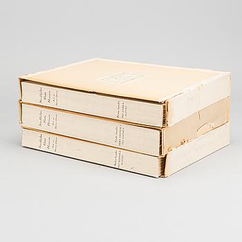 STOCKHOLMS SLOTTS HISTORIA, 3 vol,  red. Martin Olsson 1940.