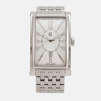 CERRUTI, armbandsur, 33,5 x 44,5 (54) mm,