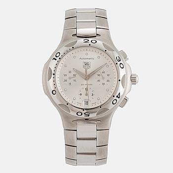 TAG HEUER, Kirium, kronograf, armbandsur, 39 mm,