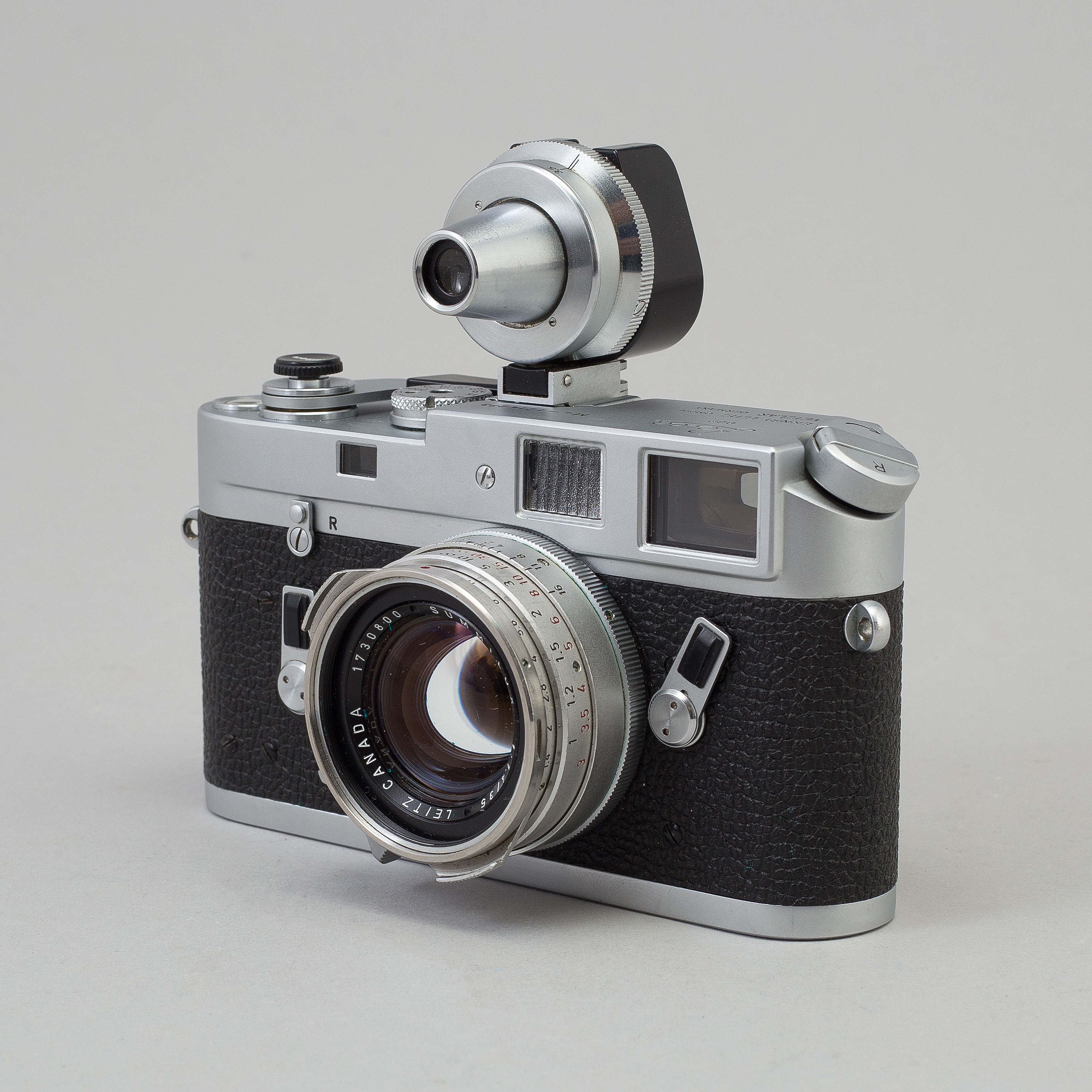 A chome body Leica M4 camera from Wetzlar 1968  With