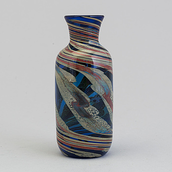 DINO MARTENS, A glas vase by DINO MARTENS signed.