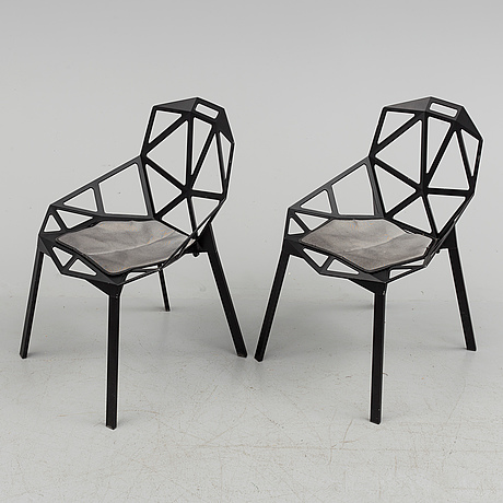 KONSTANTIN GRCIC, A set of eight \'Chair one\' by Konstantin Grcic ...