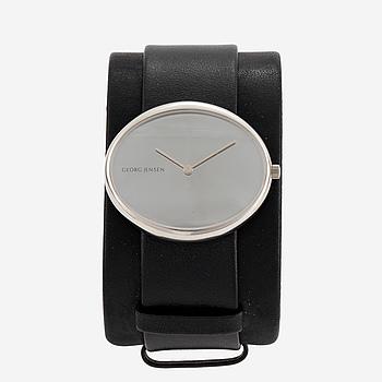 GEORG JENSEN, Vivianna Oval Large, wristwatch, 40,9 x 35 mm.