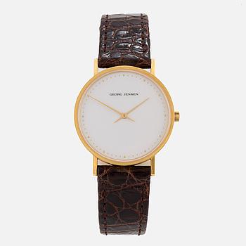 GEORG JENSEN, design Henning Koppel, wristwatch, 32,5 mm.
