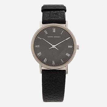 GEORG JENSEN, design Henning Koppel, armbandsur, 32,5 mm.