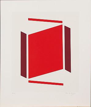 ERIC H OLSON, färglitografi, signerad och numrerad 89/100.