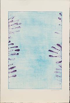 ROBERT LUCANDER, färgetsning, signerad och numrerad 38/50.