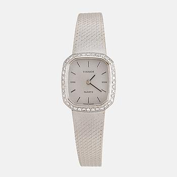 TISSOT, armbandsur, 21,5 x 24 mm,