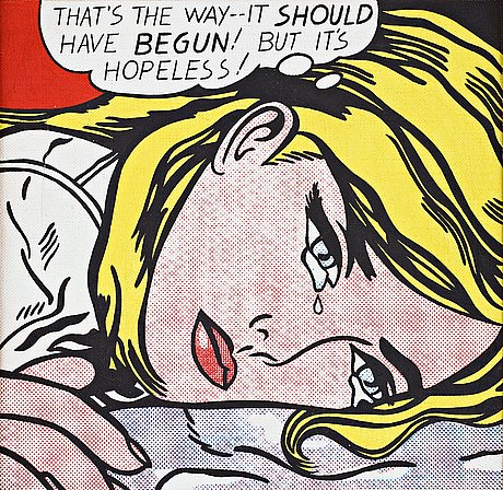 "Richard h. pettibone, ""roy lichtenstein hopeless 1963""."