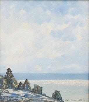 NILS WIKBERG, akvarell, signerad och daterad 1968.