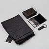 Baume & mercier, scarf / keychain / business card holder / power bank.