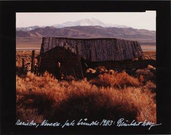 """10. Reinhart Wolf, """"Marietta/Nevada 1983""""."""