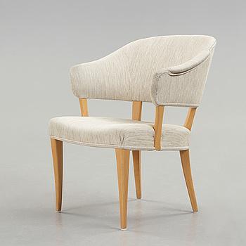 "A ""Lata Greven"" armchair by Carl Malmsten, AB OH Sjögren, Tranås."