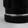 A black tele-elmar 1:4 / 135 lens no 2207628, ernst leitz, wetzlar.