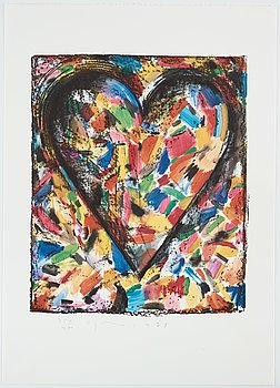 "214. Jim Dine, ""The Astra set"" (five sets, 25 lithographs)."