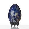 Hans hedberg, a faience egg, biot, france.