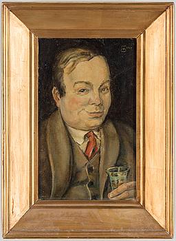 HUGO GEHLIN, olja på duk, signerad och daterad 1924.