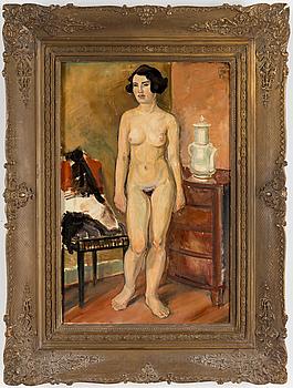 HUGO GEHLIN, Oil on canvas, signerad och daterad -23.
