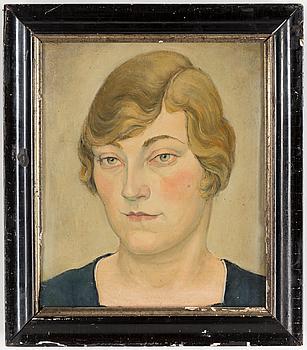 HUGO GEHLIN, Olja på duk, signerad och daterad 1918 a tergo.