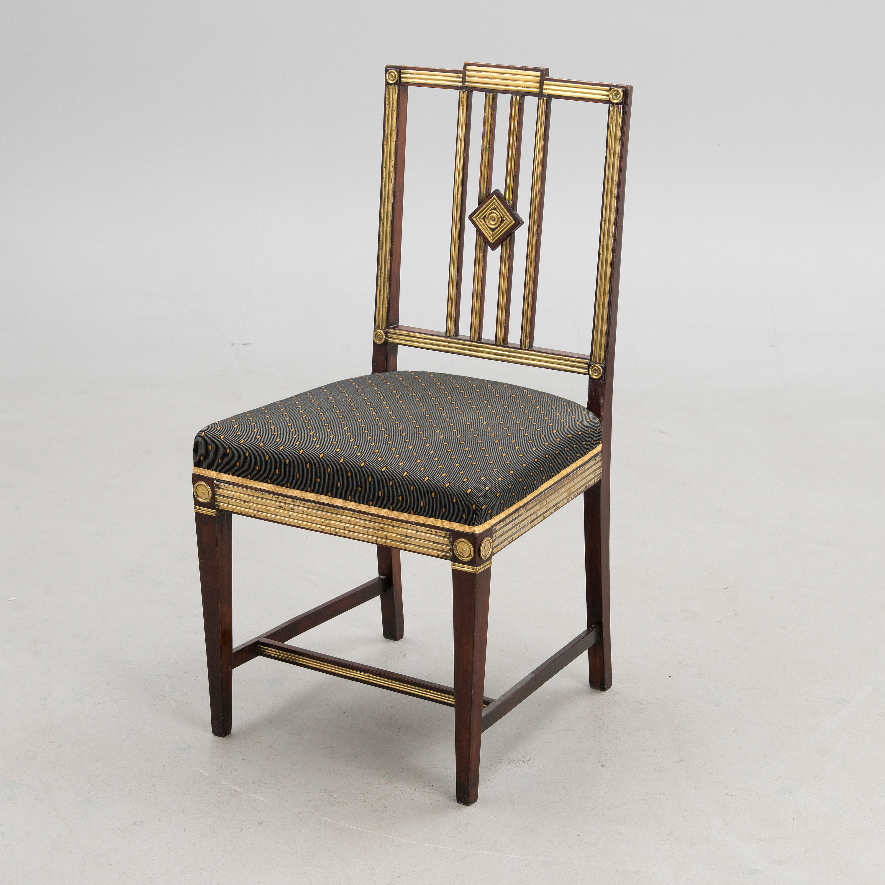 & Russian late 19th century Jacob style Chair. - Bukowskis