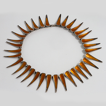 ATELIER BORGILA, ATELIER BORGILA, a necklace made in Stockholm 1958.