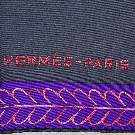"Scarf/bandanas, hermès, ""selle d'officier en grande tenue""."