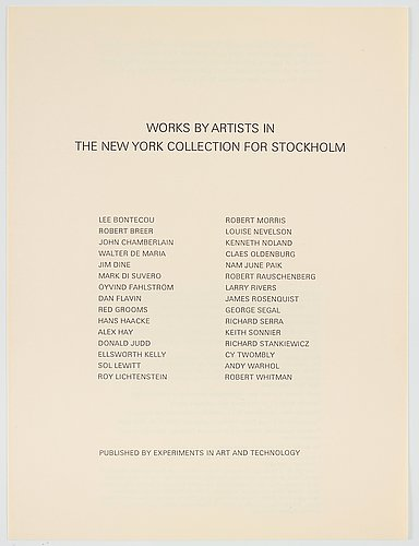 """""""the new york collection for stockholm""""."""