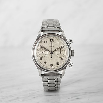 56. OMEGA, chronograph, wristwatch, 38.5 mm,
