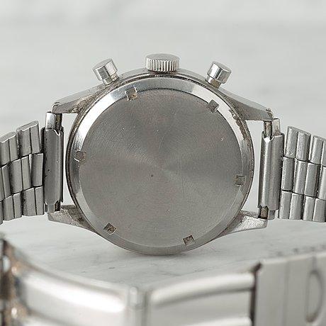 Omega, chronograph, wristwatch, 38