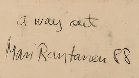 """Mari rantanen, """"a way out"""""""