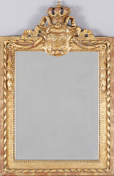 A late 19th century mirror / frame.