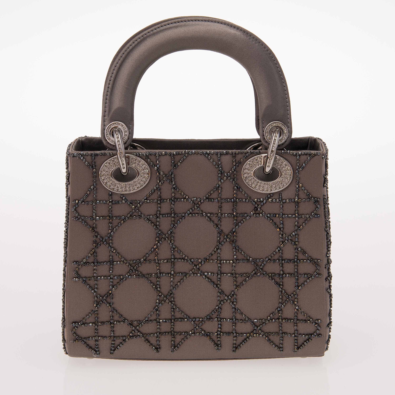 abc12b06638a Lady Dior Mini Satin Evening Bag. - Bukowskis