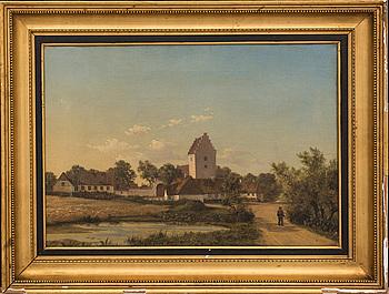 CARL WURTZEN, olja på duk signerad och daterad 1855.