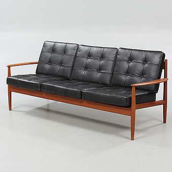 GRETE JALK, soffa, för France & Son, Danmark, formgiven 1963.