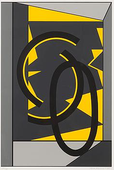 SAM VANNI, serigrafi, signerad och daterad -88, numrerad 36/75.