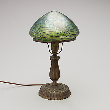 A table lamp, the early 20th century.