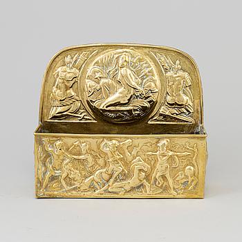 BESTICKHÅLLARE, mässing, 1800-tal.