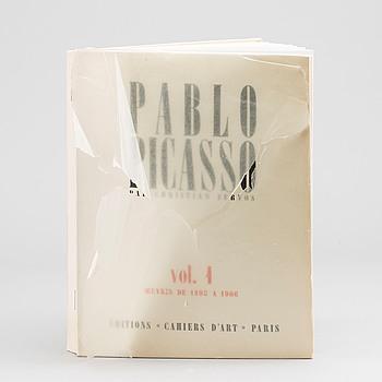 """BOK, Christian Zervos, """"Pablo Picasso vol 1. Oeuvres de 1895-1906"""", Edition Cahier d'Art, Paris 1957."""